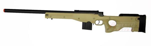 Well MB4401 L96 Metal Airsoft Sniper Rifle, Tan - REFURBISHED