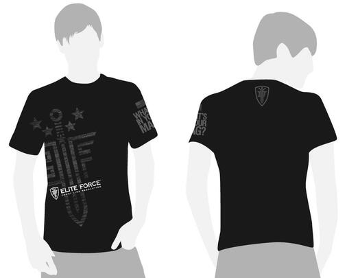 Elite Force Whats In Your Mag T-Shirt, Black/Grey