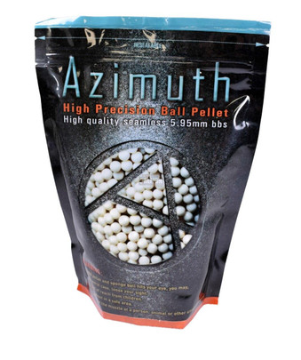 Azimuth High Precision Airsoft BBs, 0.20g, 5000 Rounds