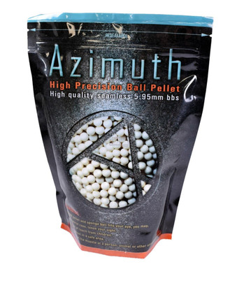 Azimuth High Precision Airsoft BBs, 0.28g, 3570 Rounds
