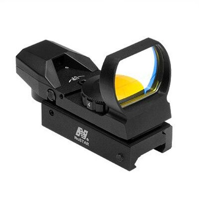 NC STAR Bullseye 4-Reticle Reflex Optic