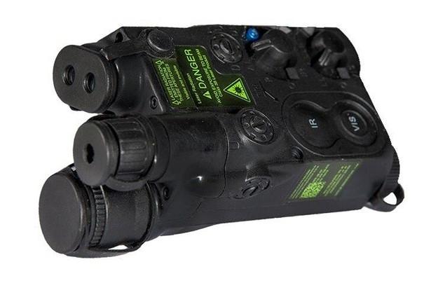 Expandable AN/PEQ-16 Battery Box, Black