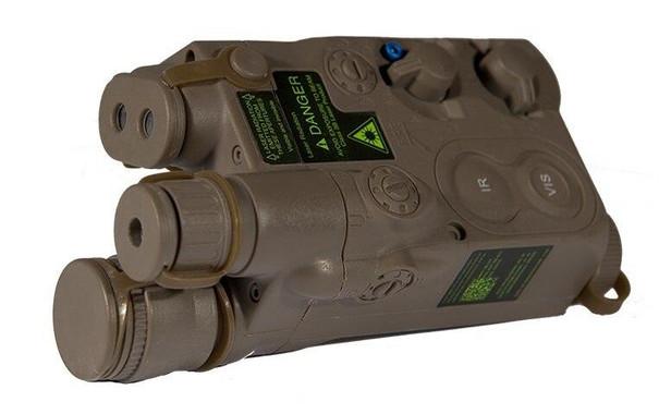 Expandable AN/PEQ-16 Battery Box, Dark Earth