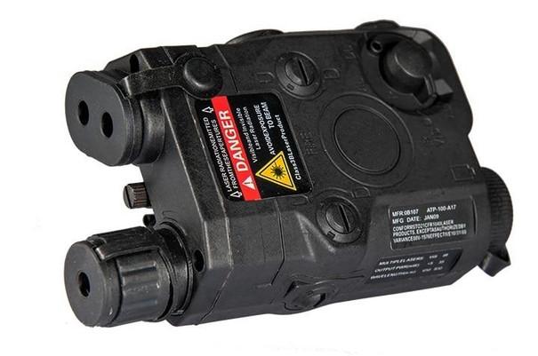 PEQ-15 Battery Box w/ Built In Red Laser, Black