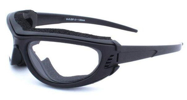 GOGGS Sidecar III Over-RX Goggles w/ Fogstopper, Clear Lens