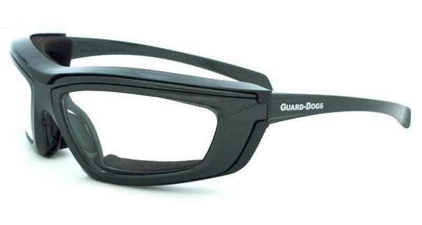 GOGGS Sidecar IV Goggles w/ Fogstopper, Clear Lens, Gunmetal Frame and Carry Case