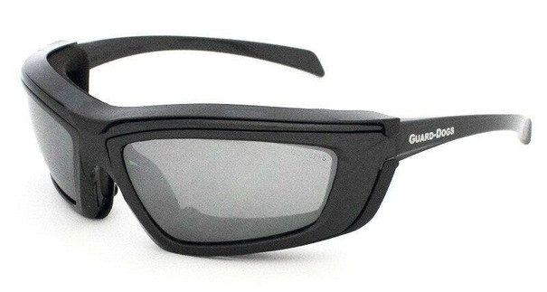 GOGGS Sidecar IV Goggles w/ Fogstopper, Mirror Lens, Gunmetal Frame and Carry Case