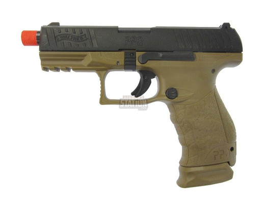 Walther PPQ Tac Gas Blowback Airsoft Pistol