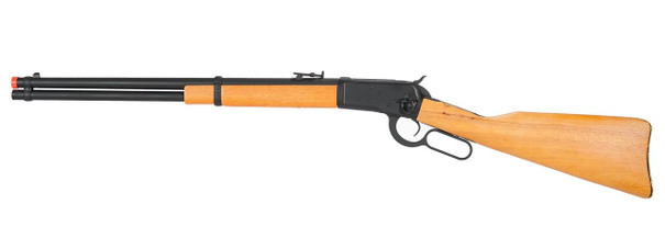 AandK 1892 Lever Action Real Wood Green Gas Rifle, 37.5