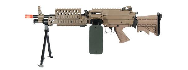 AandK M249 MK46 SPW Support Rifle AEG, Tan