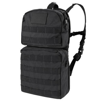 Condor HCB2 MOLLE 2.5 Liter Hydration Carrier, Black