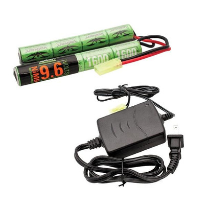 Valken Energy 9.6v Battery and Charger Combo
