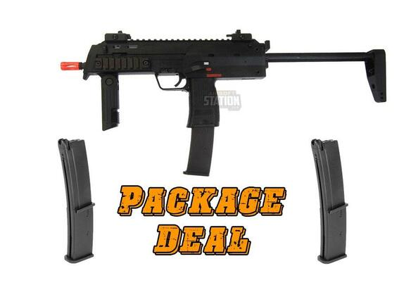 KWA HandK MP7 A1 Gas Blowback Combo Package w/ 2 Extra Mags