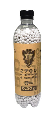 Elite Force Biodegradable Airsoft BBs, .20g, 2700 Rds