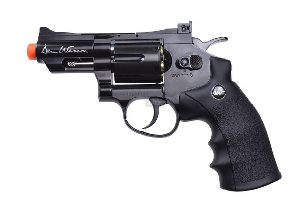 Dan Wesson 2.5 Stubby CO2 Airsoft Revolver, Black