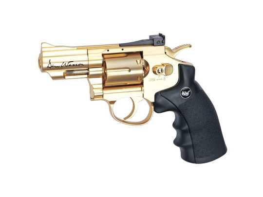 Dan Wesson 2.5 Stubby CO2 Airsoft Revolver, Gold