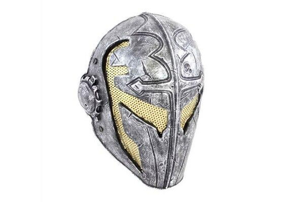 Army of Two Airsoft Mask A FMA Templar Mask Stamped Steel Eyes