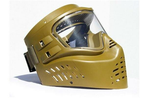GXG XVSN Goggles Olive Paintball Airsoft Protective Goggle Made in the USA