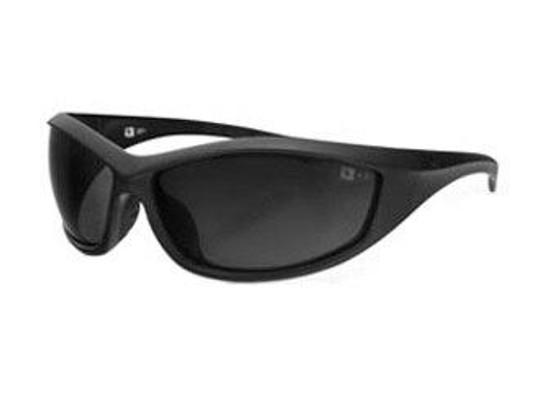 Bobster Tactical Eyewear Zulu Ballistics Eyewear Matte Black Frame Anti-fog Smoked