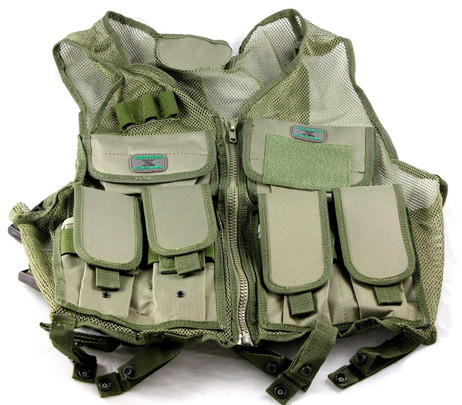 GXG Airsoft Tactical Vest OD