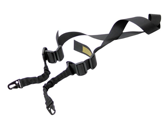 Black Knight Black Double Point Tactical Bungee Sling