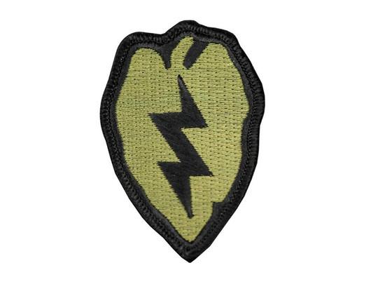Raptors Tactical 2.5 Lightning Bolt OD Iron On Patch