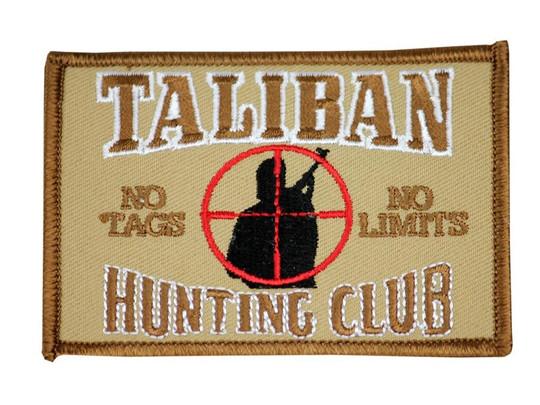 Raptors Tactical 3 Taliban Hunting Club No Limits No Tags Patch Iron On