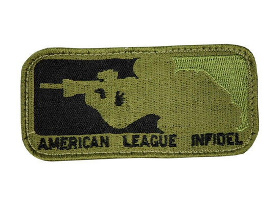 Raptors Tactical 3American League Infidel And White Patch Velcro