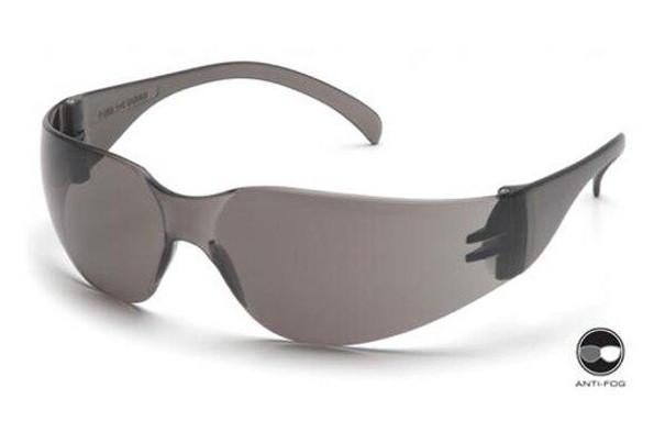 Pyramex Intruder Airsoft Glasses Grey Anti-Fog Lens Gray Frames