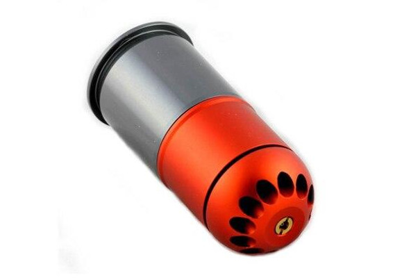 PPS/SHS CNCd Self Resetting 40mm Airsoft BB Shower 6mm Gas Grenade Shell 96 Rounds