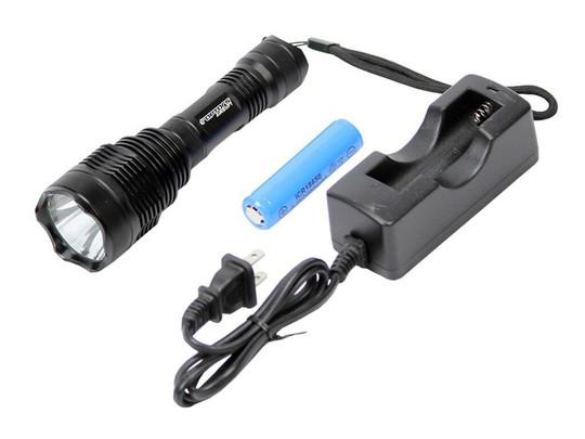 Raptors Airsoft Tactical RTQ Flashlight 700 Lumens CREE Pressure Switch 20mm
