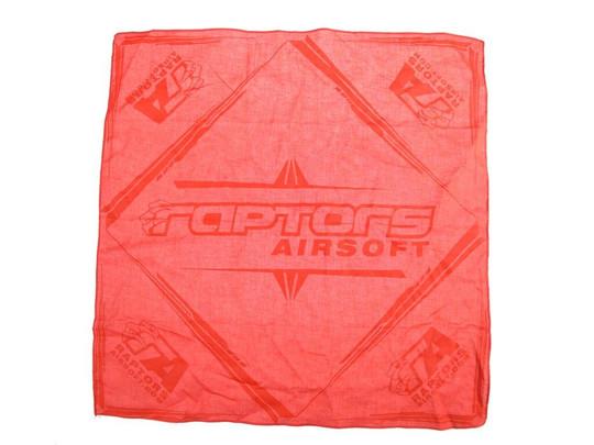 Raptors Airsoft Official Dead Rag, Red/Black