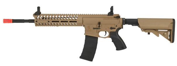 Lancer Tactical Multi Mission Carbine Blowback AEG, 14.5, OEM by Lonex, Tan/Black