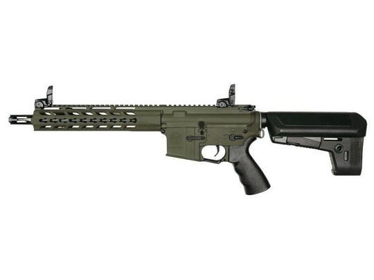 KRYTAC Trident CRB Full Metal AEG Airsoft Rifle, OD Cerakote