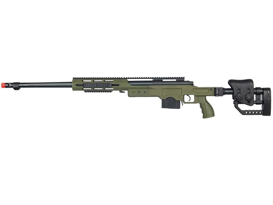 Well MB4411G Bolt Action Sniper Rifle with RIS and Folding Sniper Stock