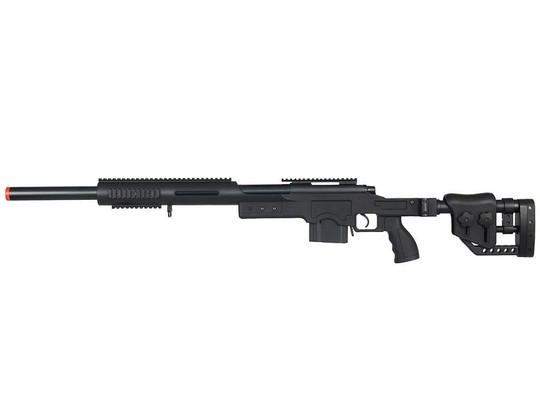 Well MB4410B Bolt Action Sniper Rifle with RIS and Folding Sniper Stock