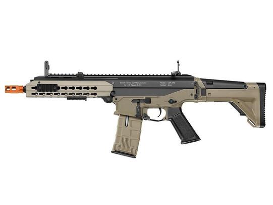 ICS CXP-APE Keymod ACR CQB Style Metal AEG Airsoft Rifle, Two-Tone