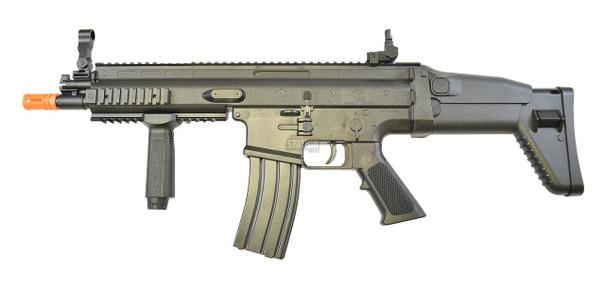FN Herstal SCAR-L Spring Powered Airsoft Gun, Black