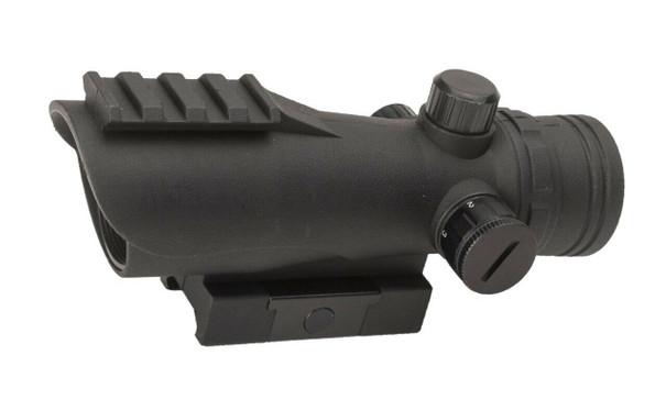 Valken Tactical 30mm Illuminated Red Dot Optic, Black