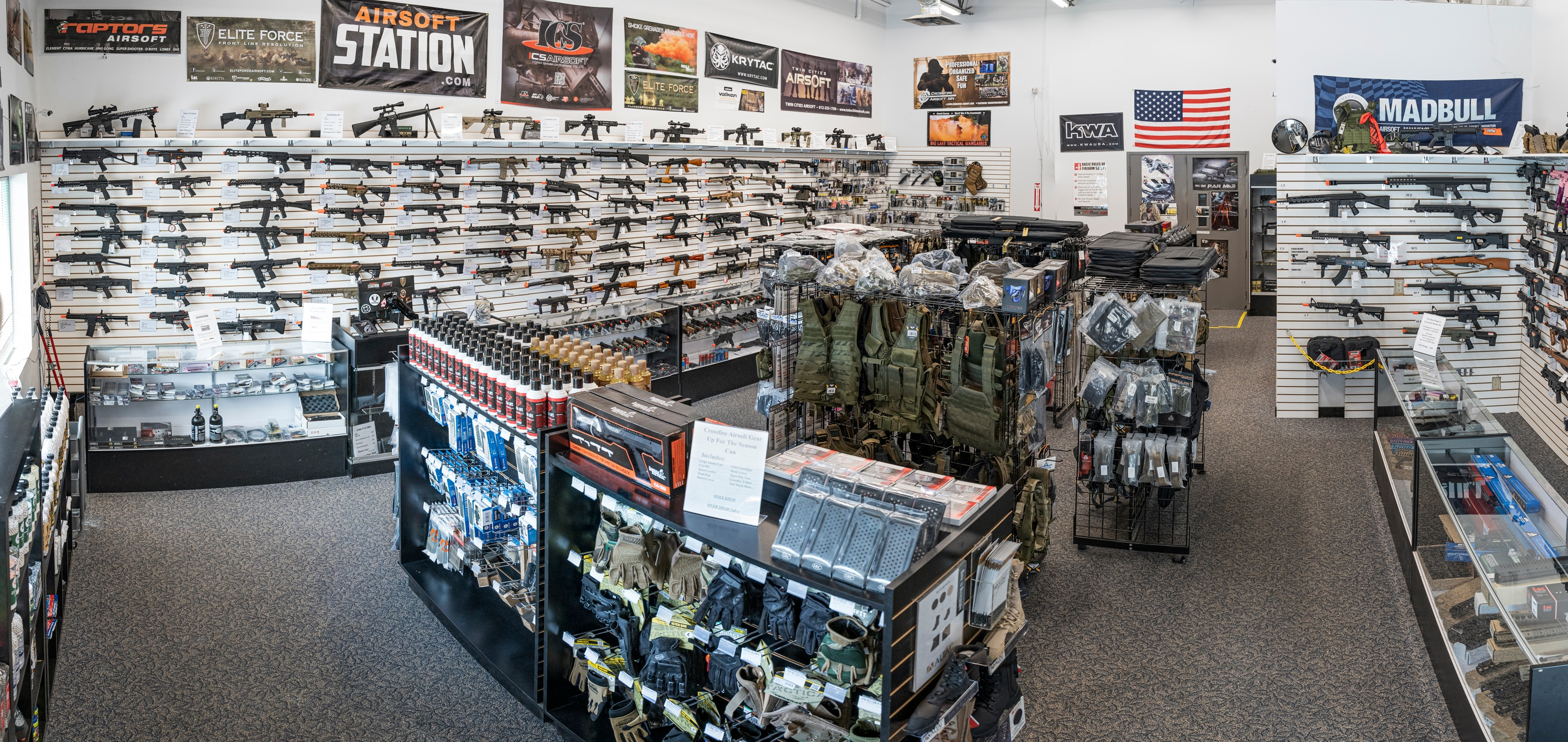 Airsoft Station's Minnesota Retail Store