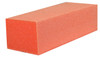 Dixon 3-Way Premium Orange Buffer White Grit - 80/100 grit