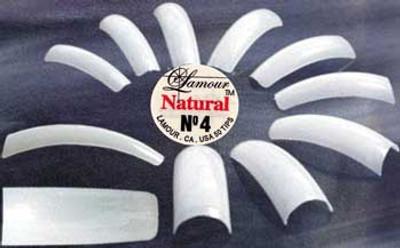 Lamour Natural Tips - 50ct/bag