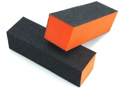 Premium 3-Way Buffer - Orange Buffer / Black Grit