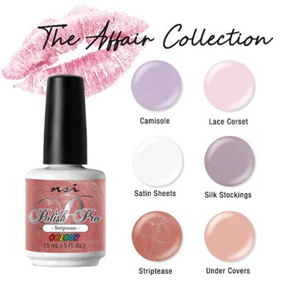 NSI Polish Pro The Affair collection Spring 2021 - Open Stock
