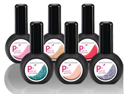 Light Elegance P+ GLITTER Gel Polish Summer Dreaming in Color Collection - Open Stock