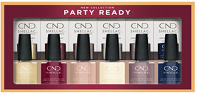 CND Shellac & CND Vinylux Holiday 2021 Party Ready Prepack - 12 PC