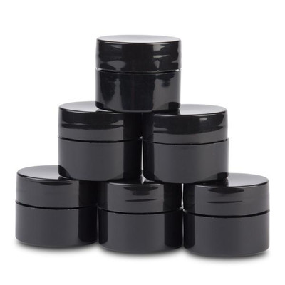 Light Elegance Black Mixing Containers - 8 ml, 6 count