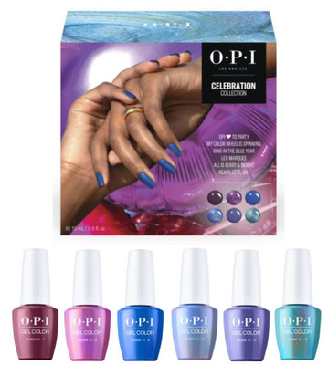 OPI GelColor HOLIDAY 2021 The Celebration Collection Add-On Kit # 2