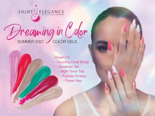 Light Elegance UV/LED Color Gel Summer 2021 Dreaming in Color Collection - Open Stock