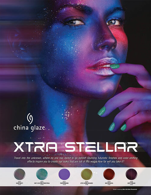 China Glaze Nail Polish Xtra Stellar Halloween 2021 Collection - Open Stock